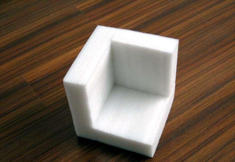 家具出厂包装用珍珠棉防撞护角