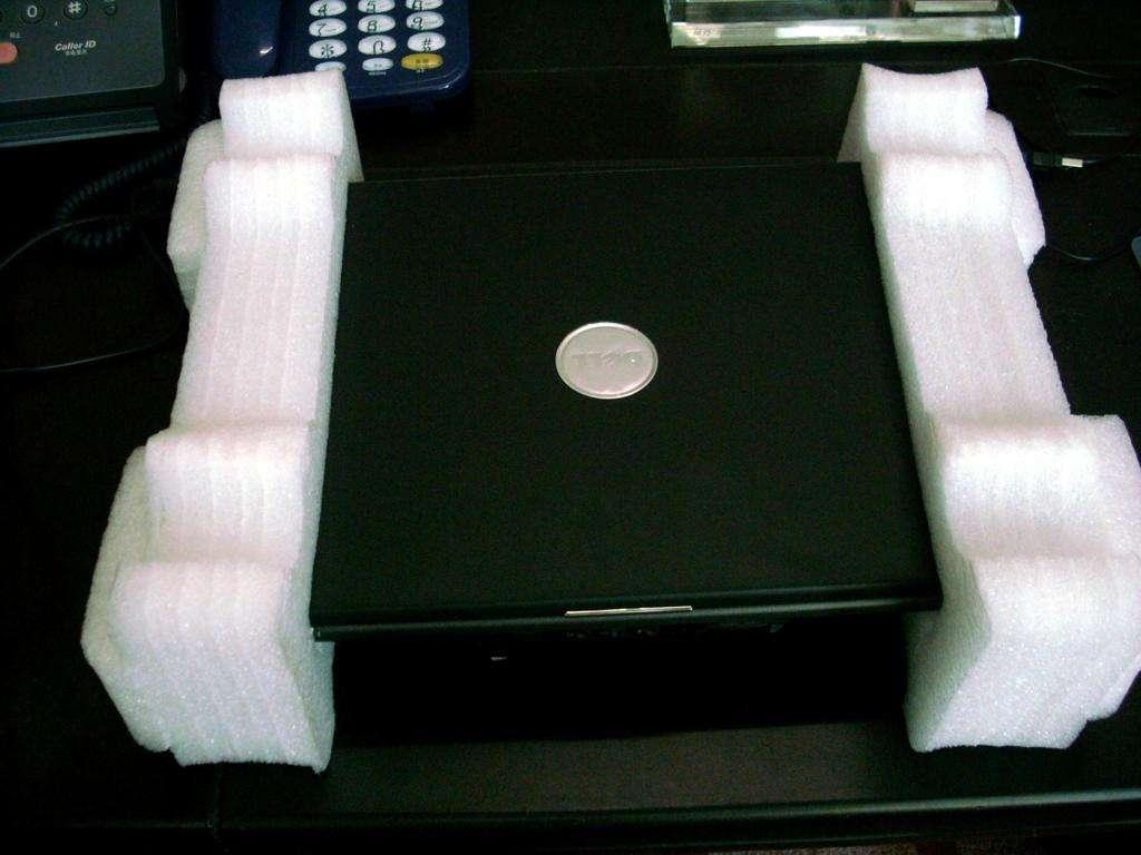 扫描机打包时必用异型珍珠棉做防震哦