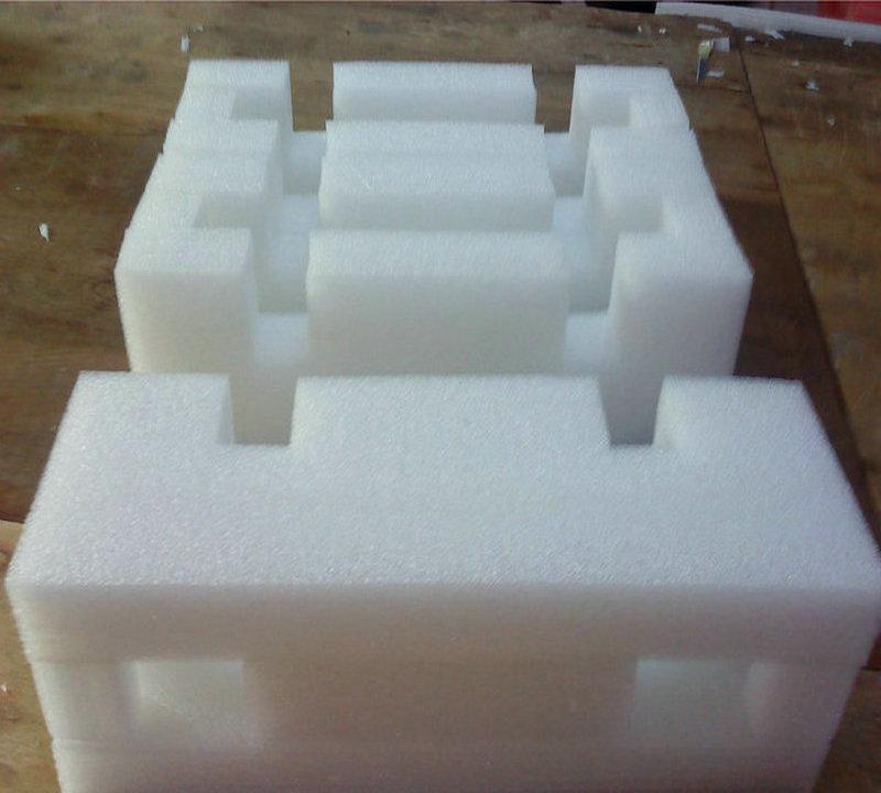 佛山珍珠棉定制 汽车配件防护产品包装 各类零件包装材料
