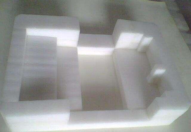 异形珍棉定制家电材料包装 白色珍珠棉电器定位包装