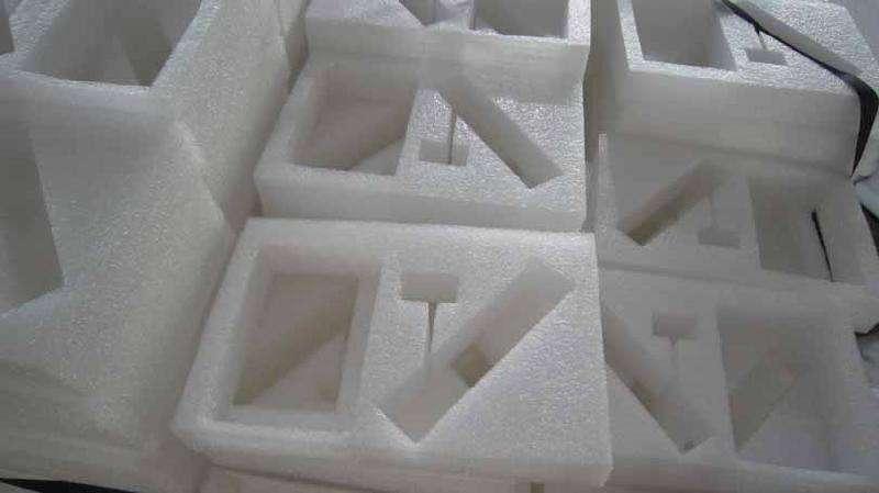 厂家生产珍珠棉 手机泡沫支架 珍珠棉内衬包装保护