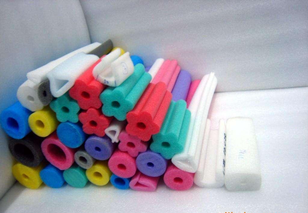佛山厂家供应各种规格 童车用珍珠棉管子 异形泡沫棉