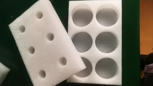 白色珍珠棉异形包装 epe珍珠棉内衬托包装 可定制